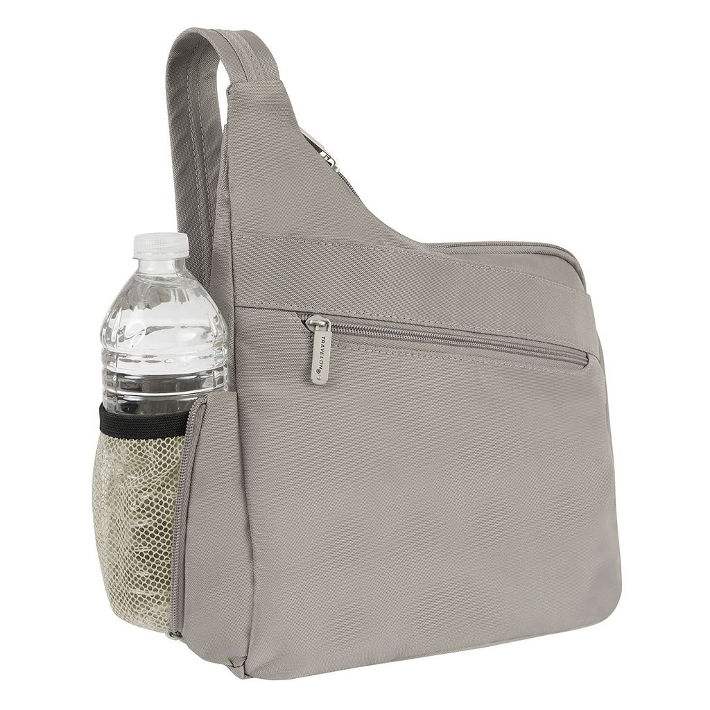Travelon Anti-Theft Classic Messenger Crossbody Bag