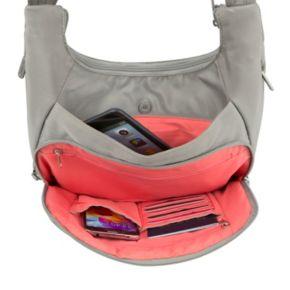 Travelon Anti-Theft Classic Pleated Hobo Bag