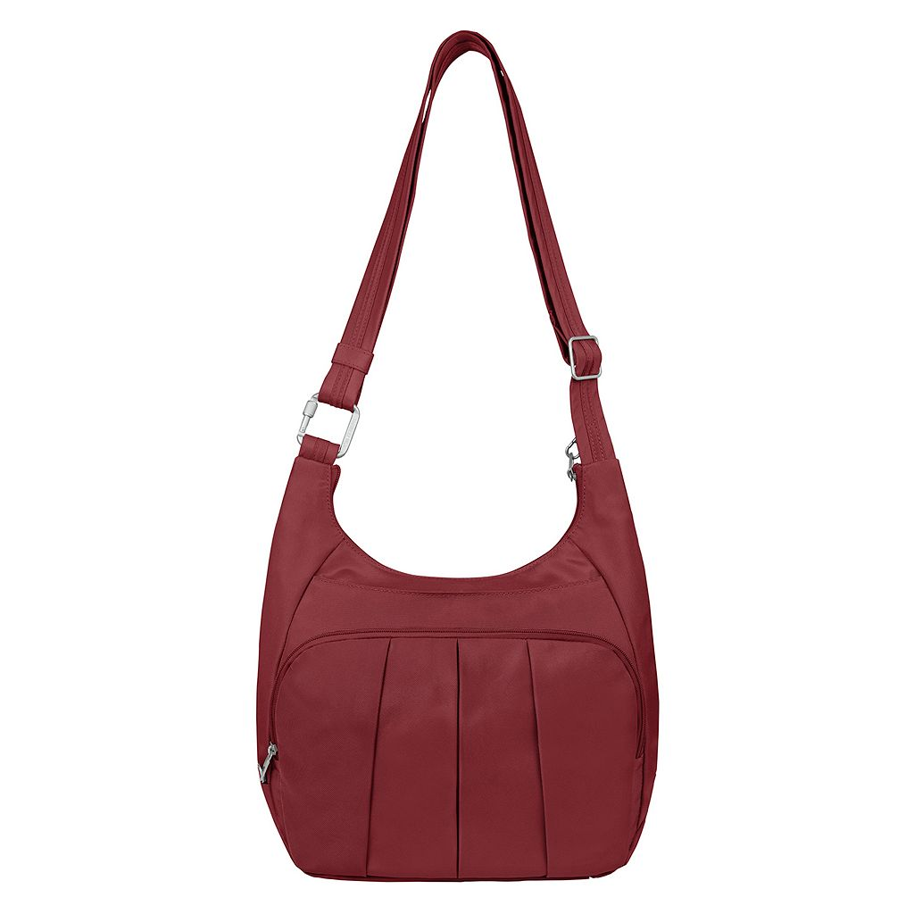 Travelon Anti-Theft Classic Pleated Hobo Bag