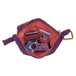 Travelon Anti-Theft Signature Twin Pocket Hobo