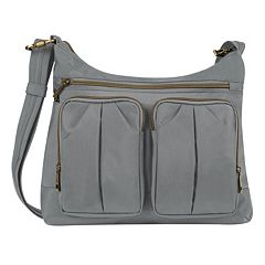 Travelon Anti-Theft Signature Twin Pocket Hobo