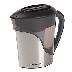 ZeroWater 8 cupStainless Steel Water Filter Pitcher
