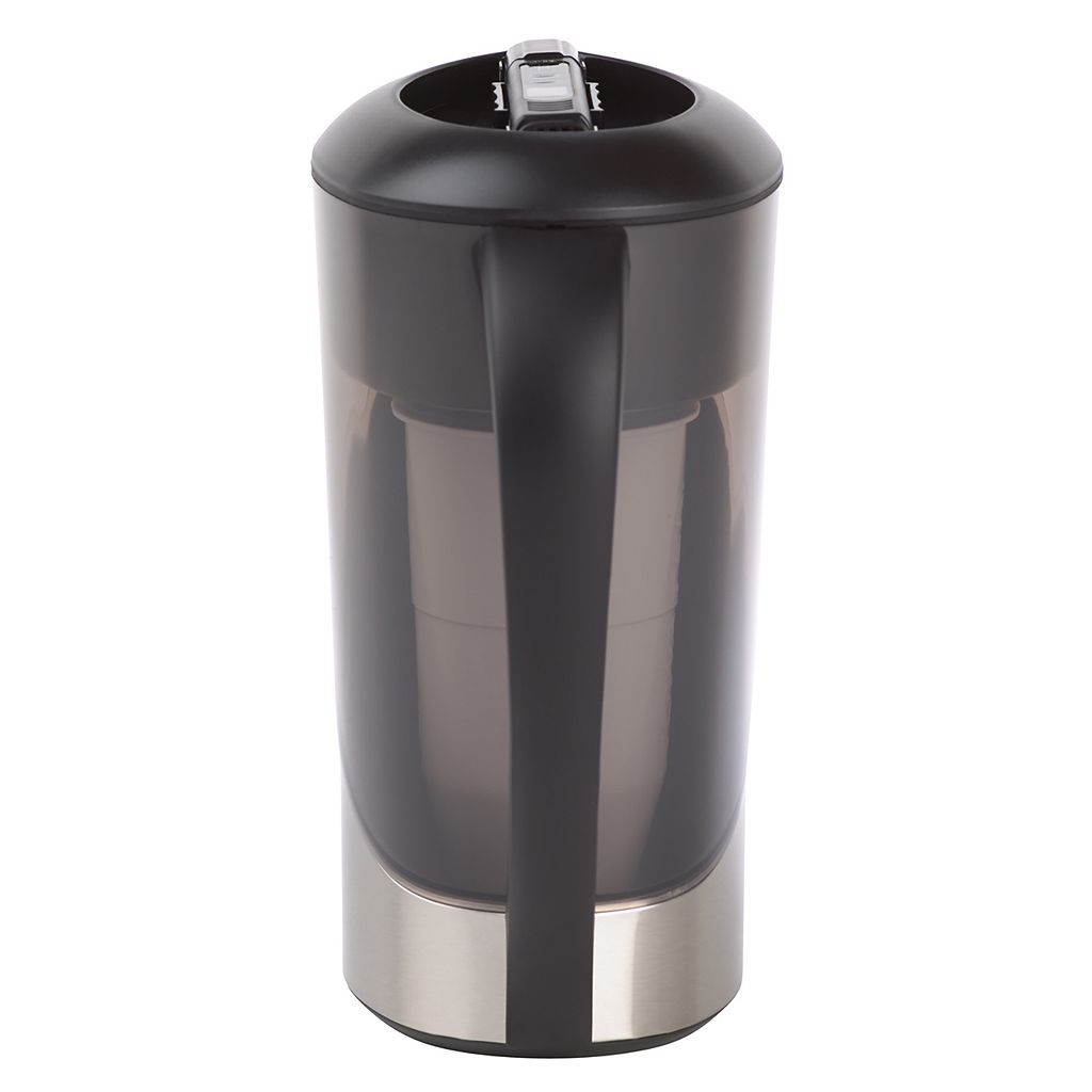 ZeroWater 8-cup Stainless Steel Water Filter Pitcher