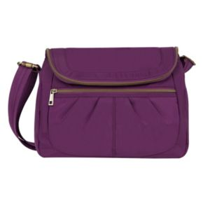 Travelon Anti-Theft Signature Flap Compartment Crossbody Bag