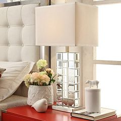 HomeVance Ophelia Mirrored Table Lamp