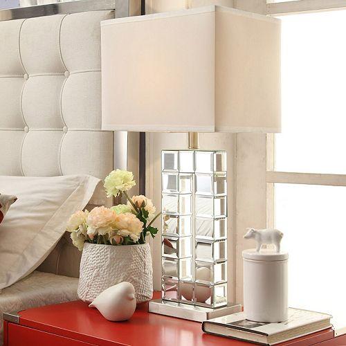 HomeVance Ophelia Mirrored Table Lamp