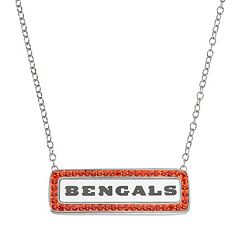 Cincinnati Bengals Bar Link Necklace