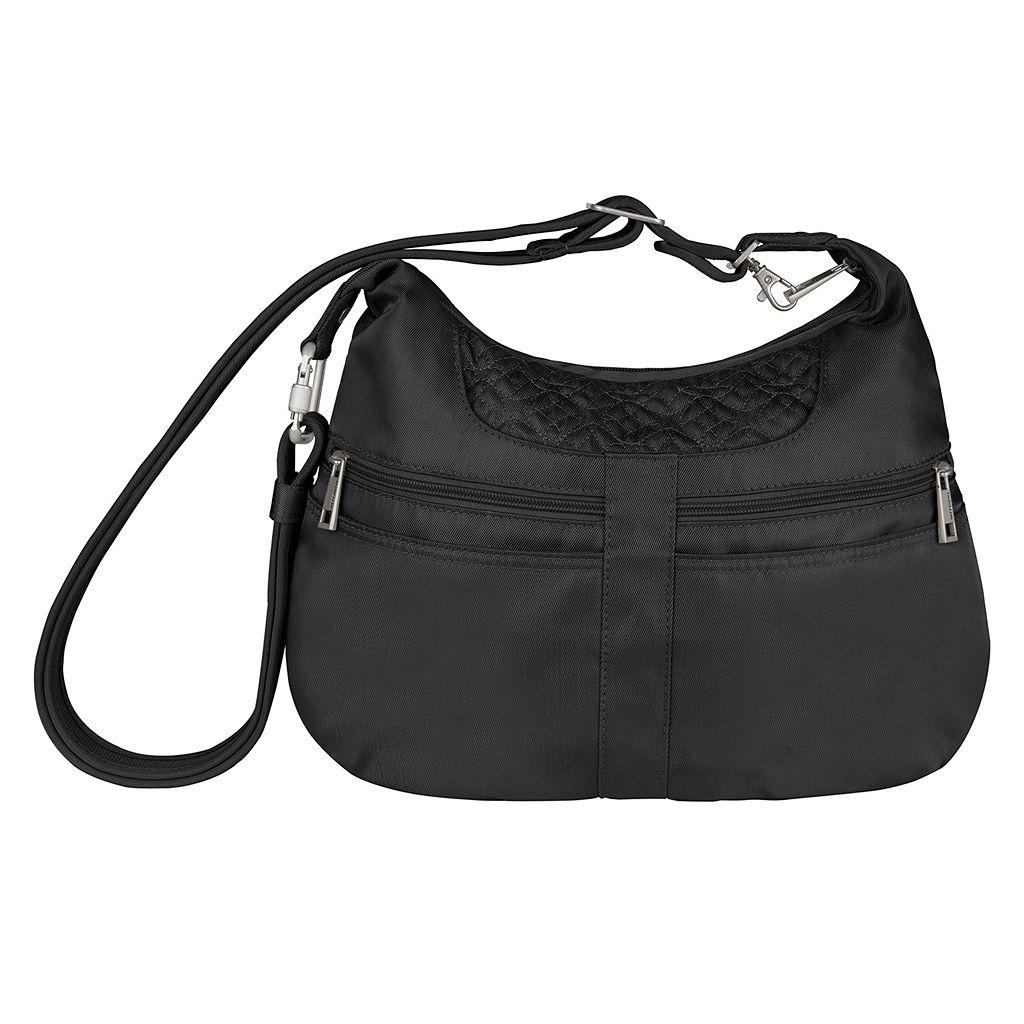 Travelon Anti-Theft Signature Multi-Pocket Hobo Bag