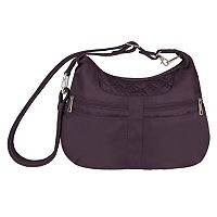 Travelon Anti-Theft Signature Multi-Pocket Hobo Bag