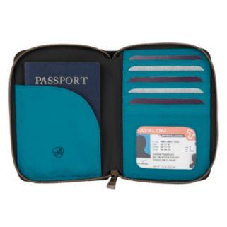 Travelon Signature RFID-Blocking Pleated Passport Wallet