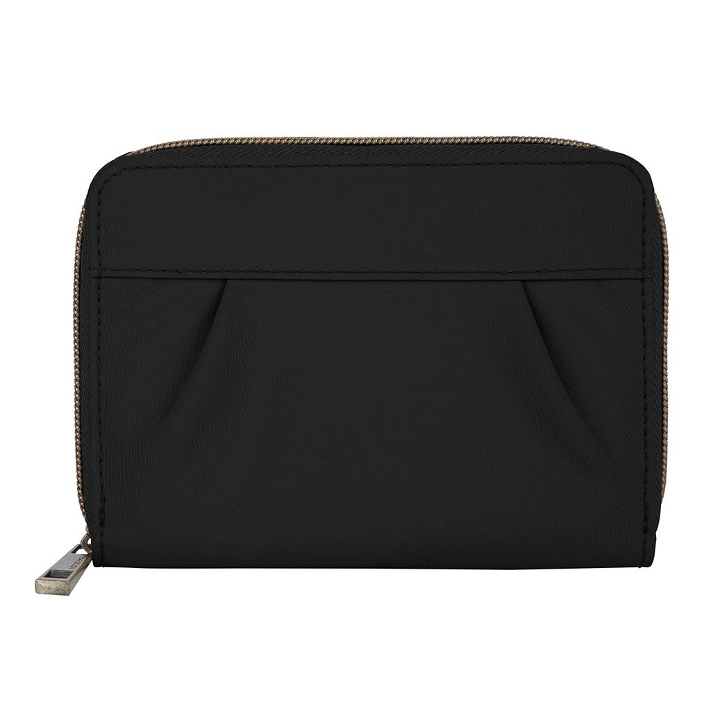 Travelon Signature RFID-Blocking Pleated Passport Wallet