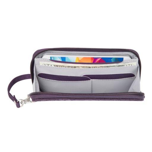Travelon Signature RFID-Blocking Phone Clutch Wallet