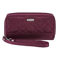 Travelon Signature RFID-Blocking Phone Clutch Wallet