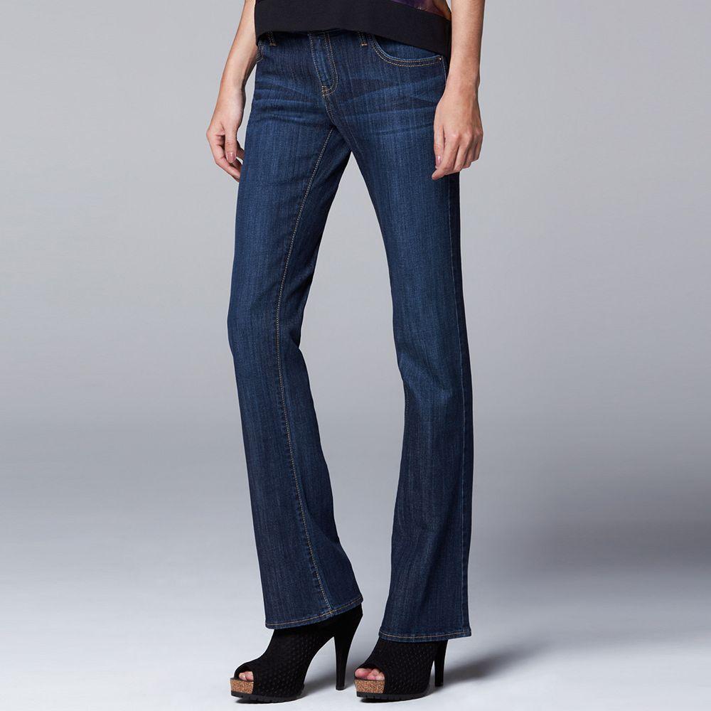 Vera Vera Wang Modern Fit Bootcut Jeans - Women&39s