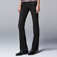Simply Vera Vera Wang Modern Fit Bootcut Jeans - Women's