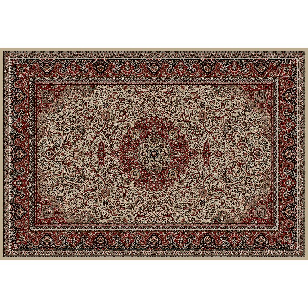 Merinos Isfahan Floral Framed Rug