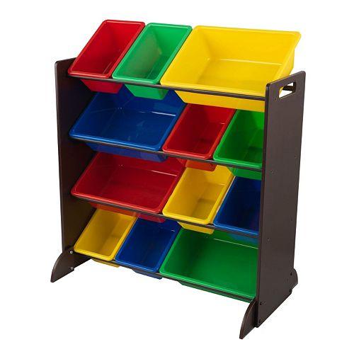 KidKraft Sort It & Store It Bin Unit