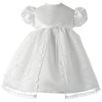 American Originals Embroidered Swirl Organza Dress - Baby Girl