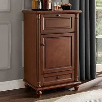 Crosley Furniture Cambridge Rotating Bar