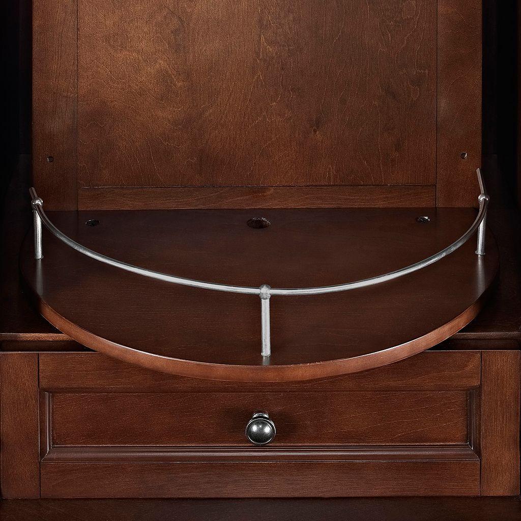 Crosley Furniture Cambridge Rotating Bar
