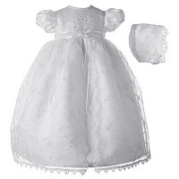American Originals Embroidered Organza Dress - Baby Girl