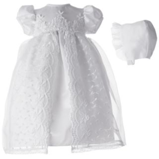 American Originals Embroidered Organza Dress - Baby Girl