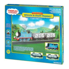 Thomas & Friends Whistle & Chuff Thomas HO Scale Electric Train Set by Bachmann