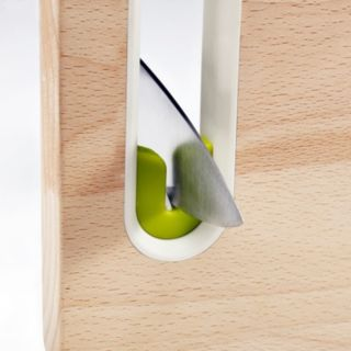 Joseph Joseph Slice & Sharpen Small Wooden Chopping Board