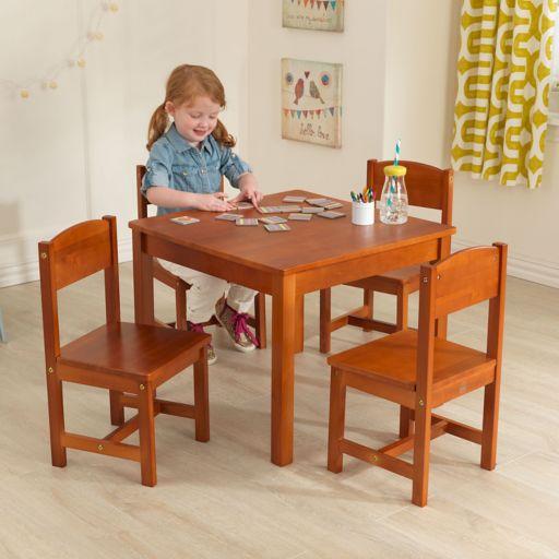 KidKraft Farmhouse Table & Chairs Set