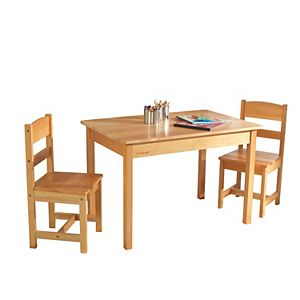 Outstanding Kidkraft Farmhouse Table Chairs Set Andrewgaddart Wooden Chair Designs For Living Room Andrewgaddartcom