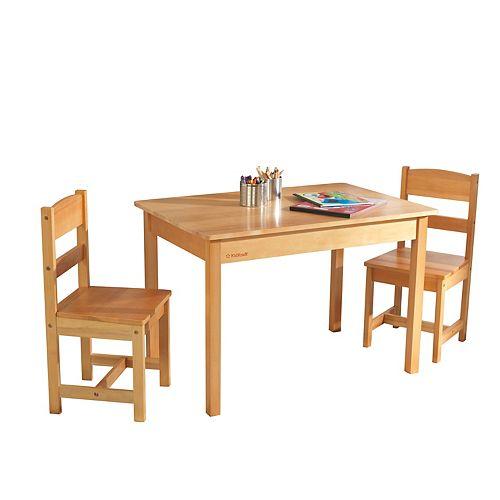 Fabulous Kidkraft Rectangle Table Chair Set Andrewgaddart Wooden Chair Designs For Living Room Andrewgaddartcom