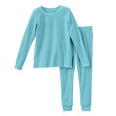 Toddler Girl Cuddl Duds Fleece Long Underwear Set