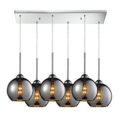 Elk Lighting Cassandra 6 Light Cascading Pendant