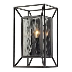 Elk Lighting Cubix 1 Light Outdoor Wall Sconce