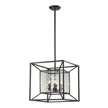 Elk Lighting Cubix 4 Light Pendant