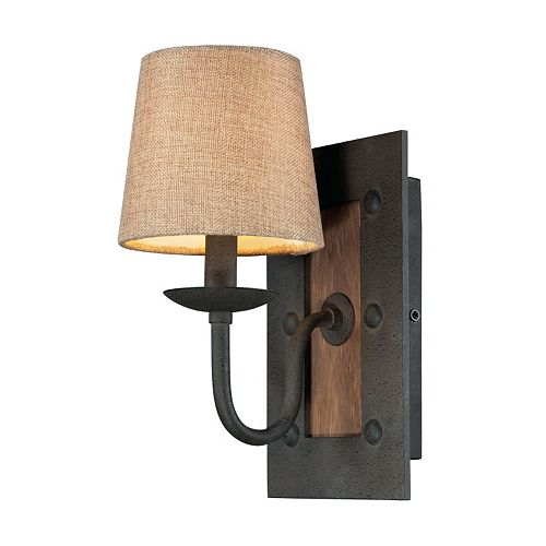 Elk Lighting Early American 1 Light Wall Sconce