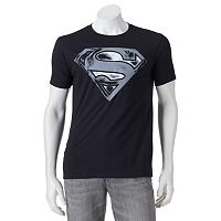 Men's Superman Distressed Logo Tee