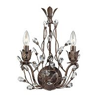 Elk Lighting Sagemore 2 Light Wall Sconce
