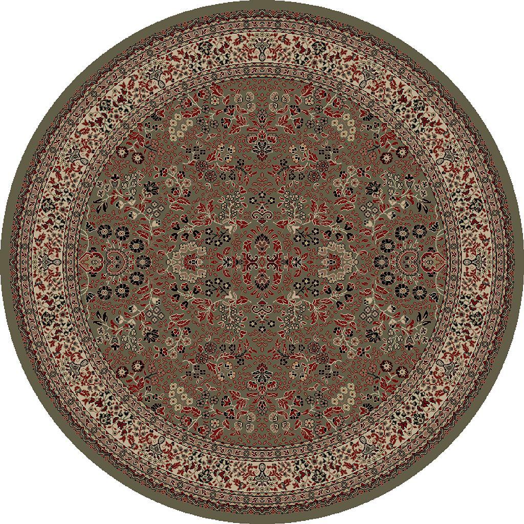 Merinos Sarouk Floral Framed Rug
