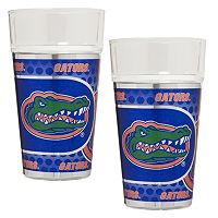 Florida Gators 2 pc Pint Glass Set