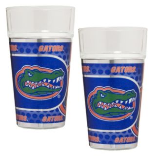 Florida Gators 2-Piece Pint Glass Set