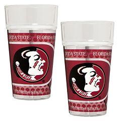 Florida State Seminoles 2 pc Pint Glass Set