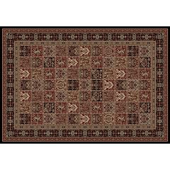 Merinos Panel Medallion Framed Rug