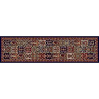 Merinos Panel Floral Framed Rug