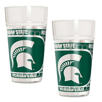 Michigan State Spartans 2-Piece Pint Glass Set