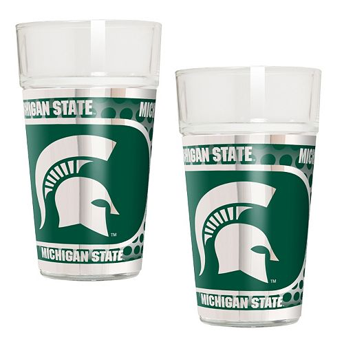 Michigan State Spartans 2-Piece Pint Glass Set