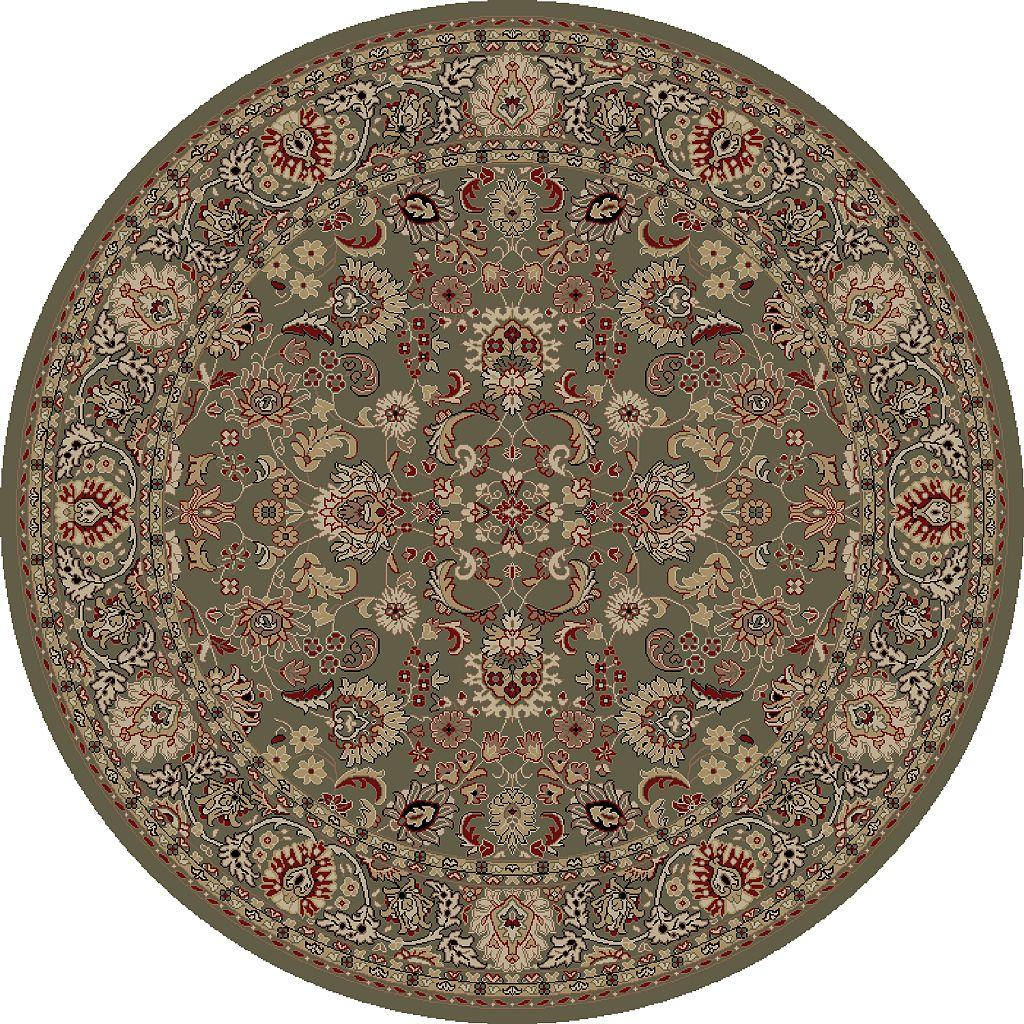 Merinos Mahal Floral Framed Rug