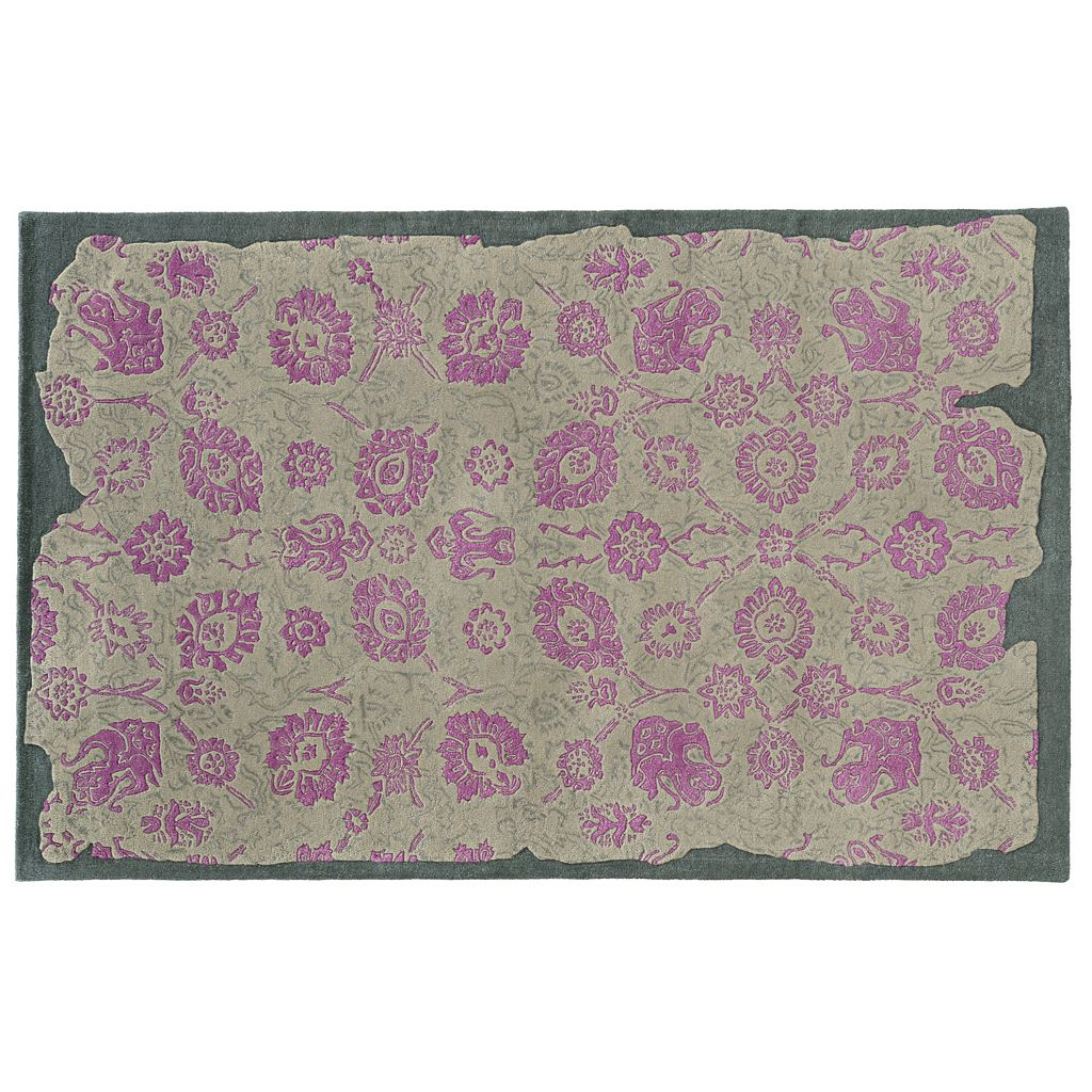PANTONE UNIVERSE™ Color Influence Eroded Ornate Floral Rug - 10' x 13'