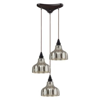 Elk Lighting Danica 3 Light Cascade Pendant