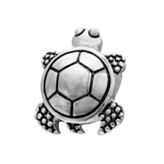 Individuality Beads Sterling Silver Turtle Bead